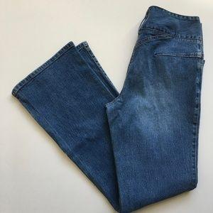 Cache Vintage Wide Leg Flare Jeans size 6